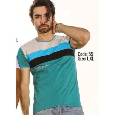 تی شرت پنبه ای کد F55