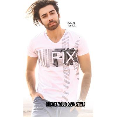 تی شرت پنبه ای کد F68