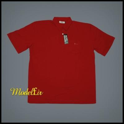 یقه دار جیب دار عرض 62 سانت قرمز