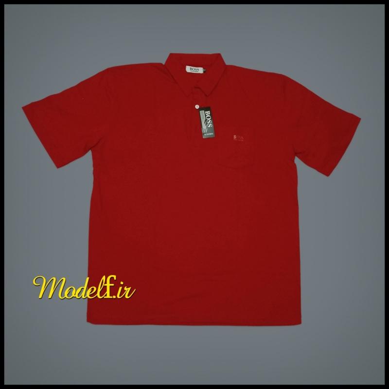 تیشرت سایز بزرگ قرمز رنگ
