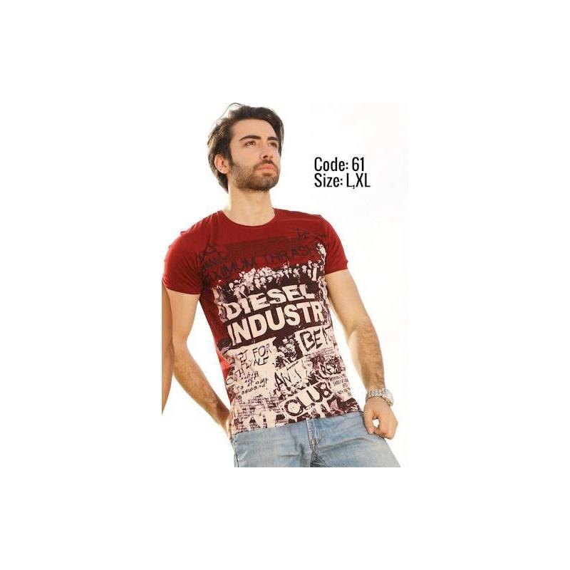 تی شرت پنبه ای کد F490