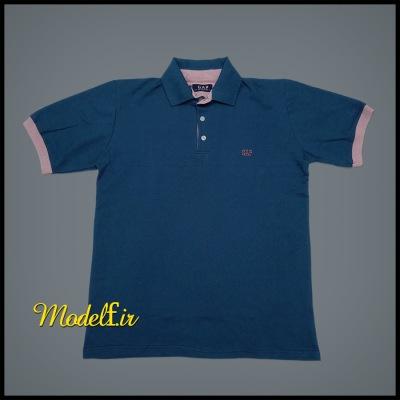 تیشرت جودون رنگ آبی سایز بزرگ