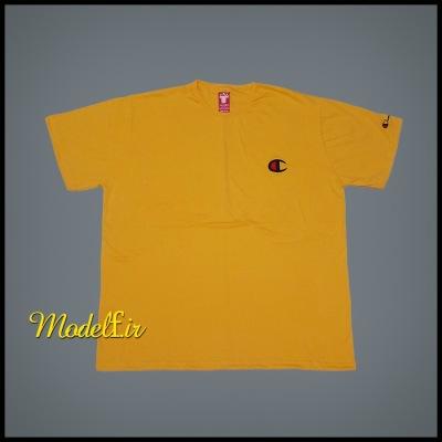 تیشرت سایز بزرگ زرد