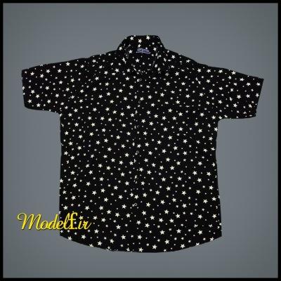 پیراهن هاوایی مدل ستاره