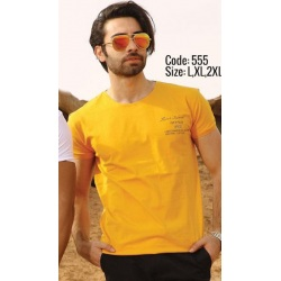 تی شرت پنبه ای کد F555