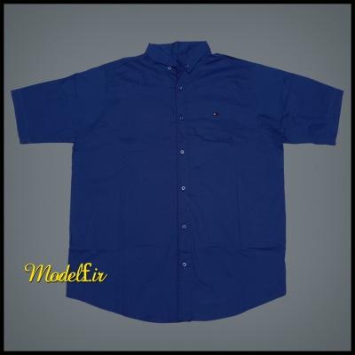 پیراهن سایز بزرگ رنگ آبی