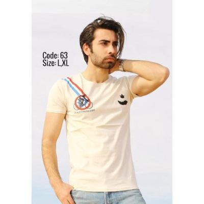 تی شرت پنبه ای کد F63