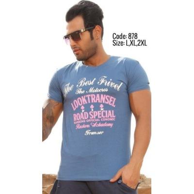 تی شرت پنبه ای کد F878