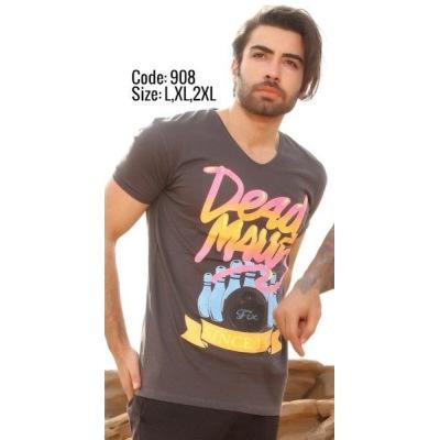 تی شرت پنبه ای کد F908