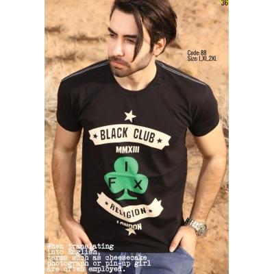 تی شرت پنبه ای کد F88