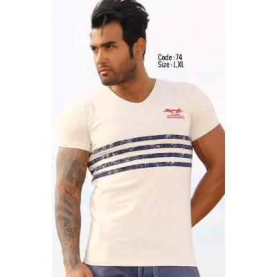 تی شرت پنبه ای کد F74
