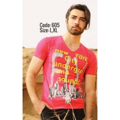 تی شرت پنبه ای (نخی) کد F605