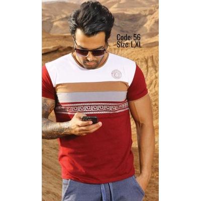 تی شرت پنبه ای ( نخی ) کد F56