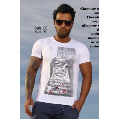 تی شرت پنبه ای ( نخی ) کد F103
