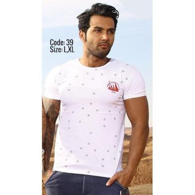 تی شرت پنبه ای ( نخی ) کد F39