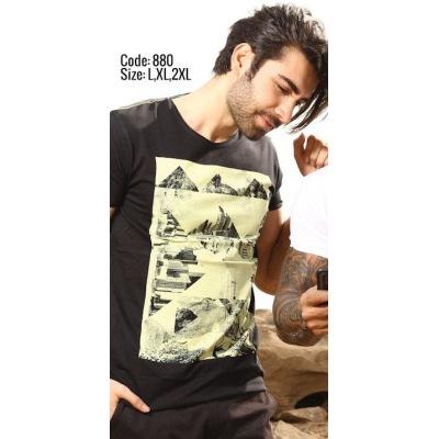 تی شرت پنبه ای ( نخی ) کد F880