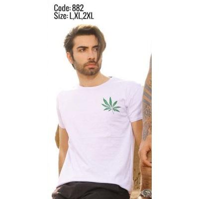 تی شرت پنبه ای ( نخی ) کد F882