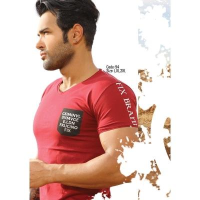 تی شرت پنبه ای ( نخی ) کد F94