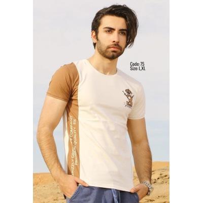 تی شرت پنبه ای ( نخی ) کد F75