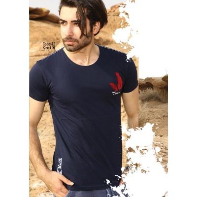 تی شرت پنبه ای ( نخی ) کد F42