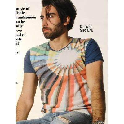 تی شرت پنبه ای ( نخی ) کد F37