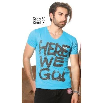 تی شرت پنبه ای ( نخی ) کد F50