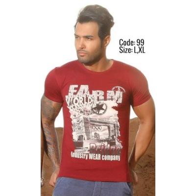 تی شرت پنبه ای ( نخی ) کد F99