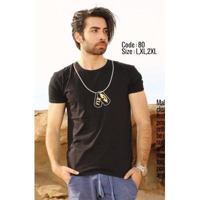 تی شرت پنبه ای ( نخی ) کد F80