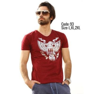 تی شرت پنبه ای ( نخی ) کد F93