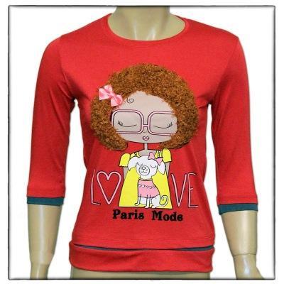 خرید اینترنتی بلوز مو دار و تونیک و تی شرت دخترانه و زنانه
