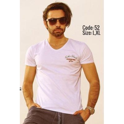 تی شرت نخی مردانه کد F52