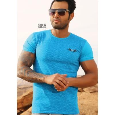 تی شرت مردانه نخی کد F62